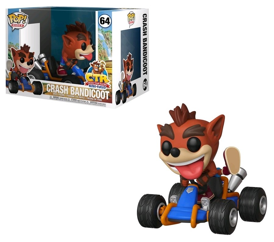 Crash Bandicoot: Crash Go-Kart - Pop! Ride Vinyl Figure image