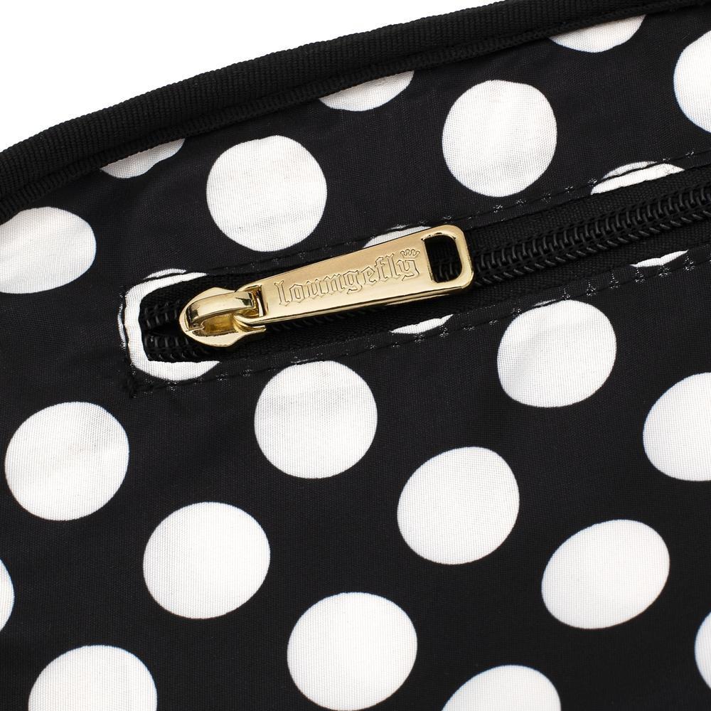 Loungefly: Disney Logo Polka Dot Crossbody Bag image