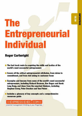 The Entrepreunerial Individual by Roger Cartwright image