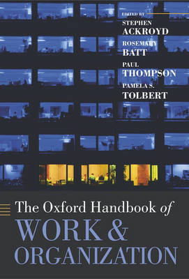 The Oxford Handbook of Work and Organization image