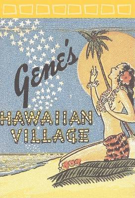 Hawaiian Village Notepad by Jim Heimann image