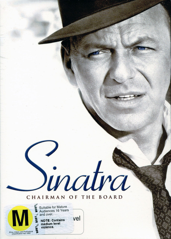 Sinatra - Chairman Of The Board (4 Disc Box Set) on DVD