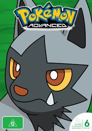 Pokemon - Season 6: Advanced (New Packaging) on DVD
