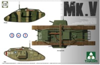 Takom WWI Heavy Battle Tank Mark V (3-in-1 Kit)