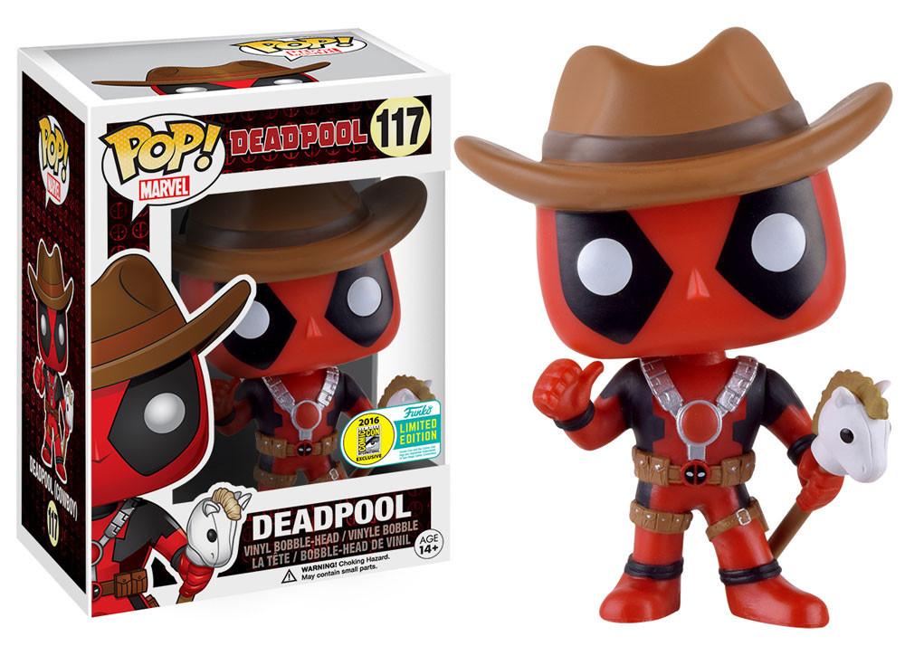 Deadpool - Cowboy Deadpool Pop! Vinyl Figure image
