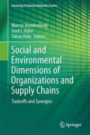 Social and Environmental Dimensions of Organizations and Supply Chains image