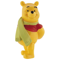 Bullyland: Disney Figure - Winnie The Pooh with Scarf