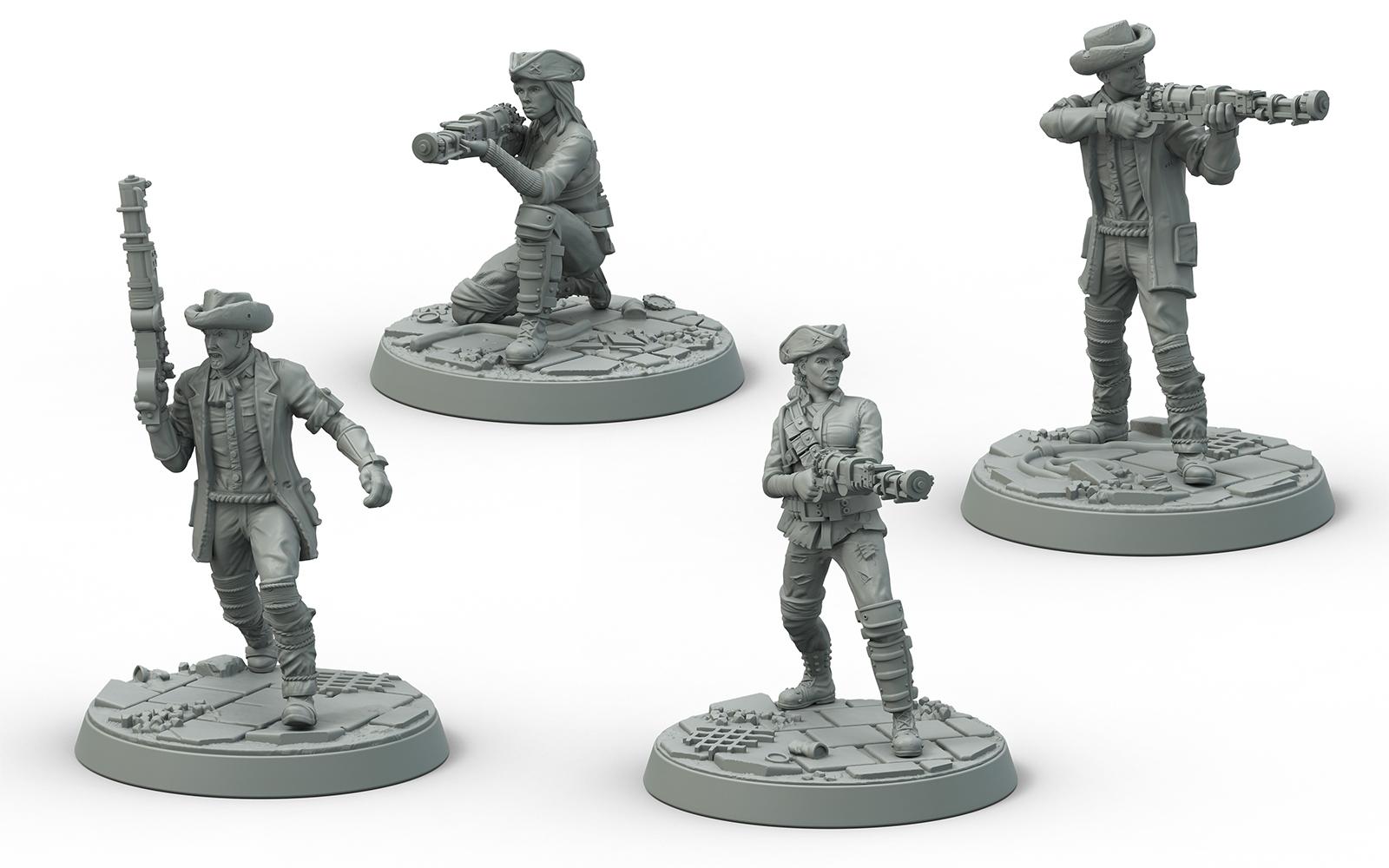 Fallout: Wasteland Warfare Survivors Minutemen Posse image
