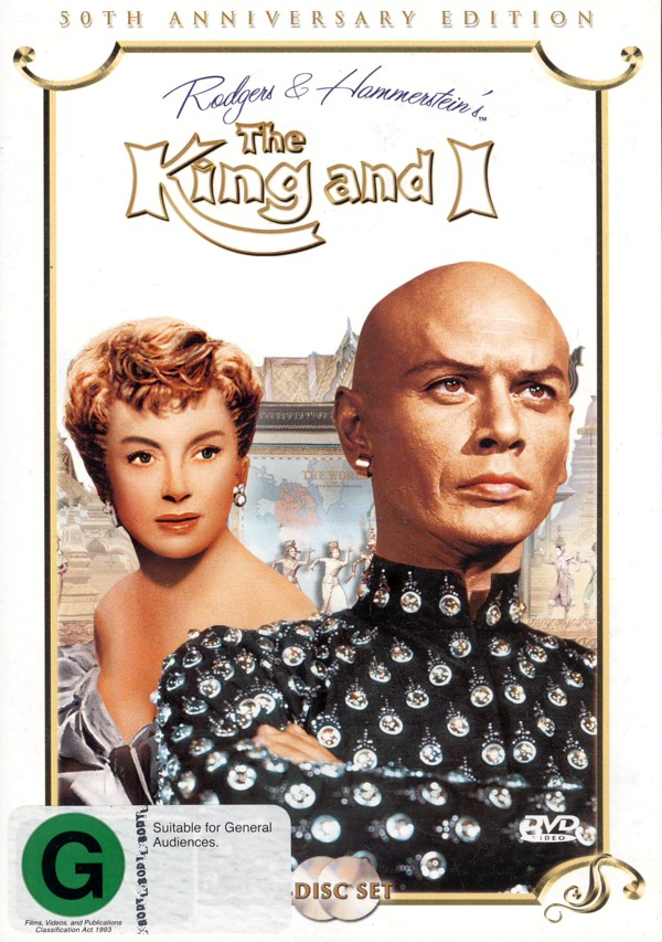 King And I, The 50th Anniversary Collector's Edition (2 Disc) on DVD image