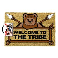 Star Wars: Ewok Door Mat - Welcome To The Tribe image