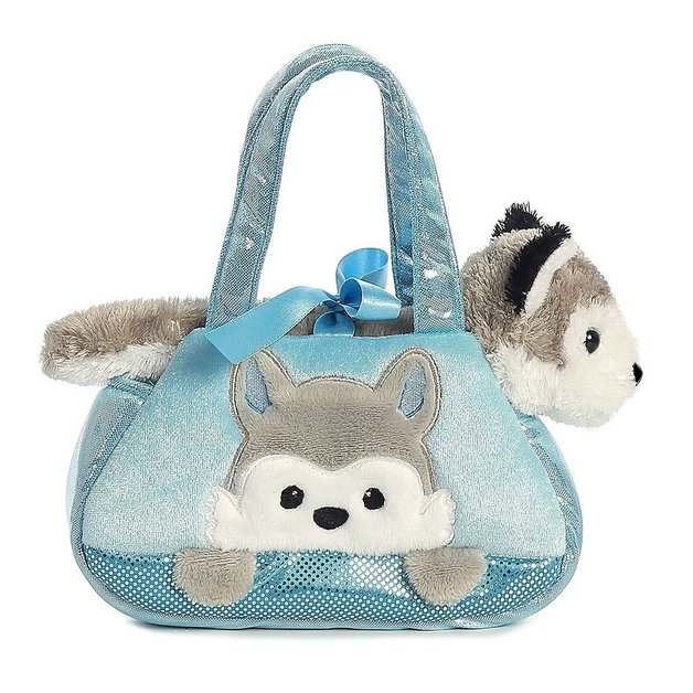 Aurora: Fancy Pal Pet Carrier – Peek A Boo Husky