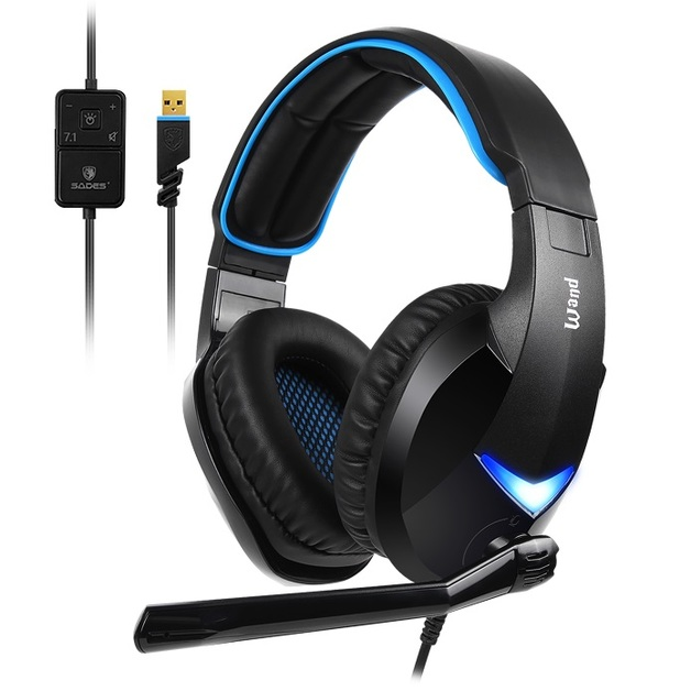 SADES Wand Gaming Headset for PC