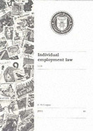 External Programme Subject Guides: Ll.M. - Individual Employment Law by A. McColgan image