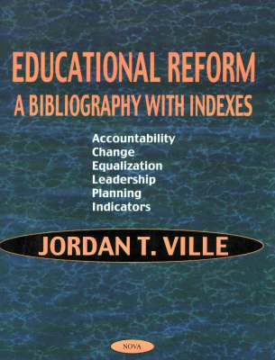 Educational Reform by Jordan T. Ville image