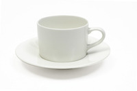 Maxwell & Williams - White Basics Straight Cup & Saucer 220ml
