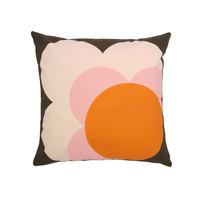 Orla Kiely Shadow Flower Cushion Cover - Nutmeg