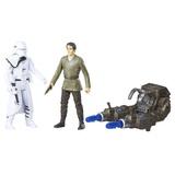 "Star Wars Universe: Snow Trooper Officer & Poe Dameron - Deluxe 3.75"" Figure 2-Pack"