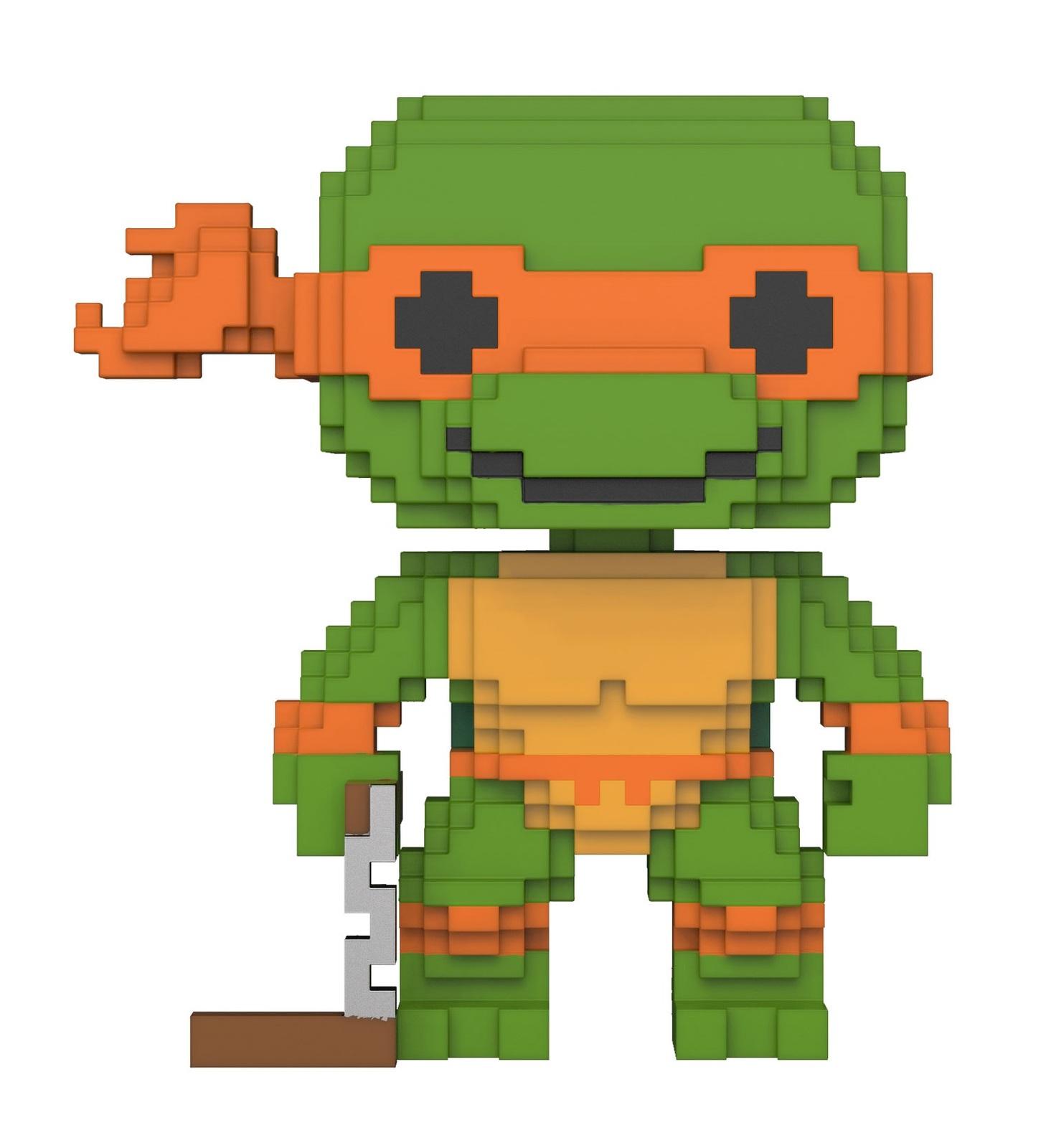 6bcde1bbdec TMNT - Michelangelo (8-Bit) Pop! Vinyl Figure image