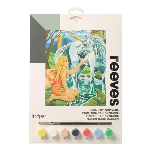 Reeves: Paint by Numbers - Unicorn (Medium)