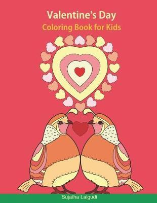 Valentine's Day Coloring Book for Kids by Sujatha Lalgudi image