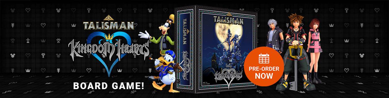 Talisman - Disney Kingdom Hearts Edition