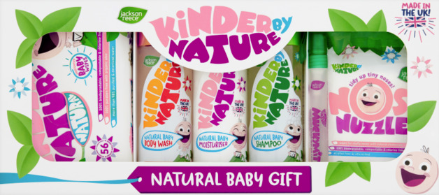 Kinder By Nature: Natural Baby Gift Set