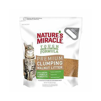 Natures Miracle: Walnut Clumping Litter 4.5kg