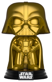 Star Wars - Darth Vader (Gold Chrome) Pop! Vinyl Figure image