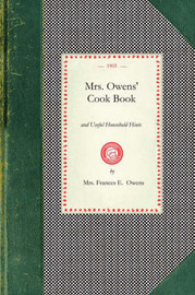 Mrs. Owens' Cook Book by Frances Owens
