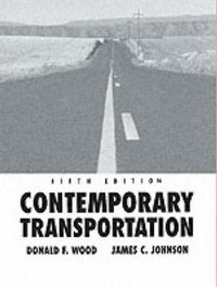 Contemporary Transportation by Donald F Wood image