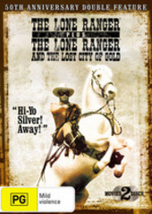 Lone Ranger 50th Anniversary, The - Double Feature (2 DVD) on DVD