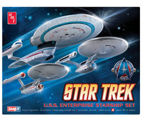 AMT Star Trek Enterprise 1/2500 Model Kit Set 3