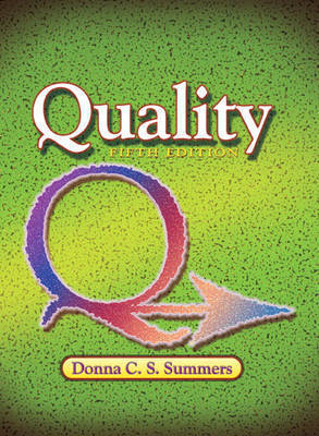 Quality by Donna C. Summers