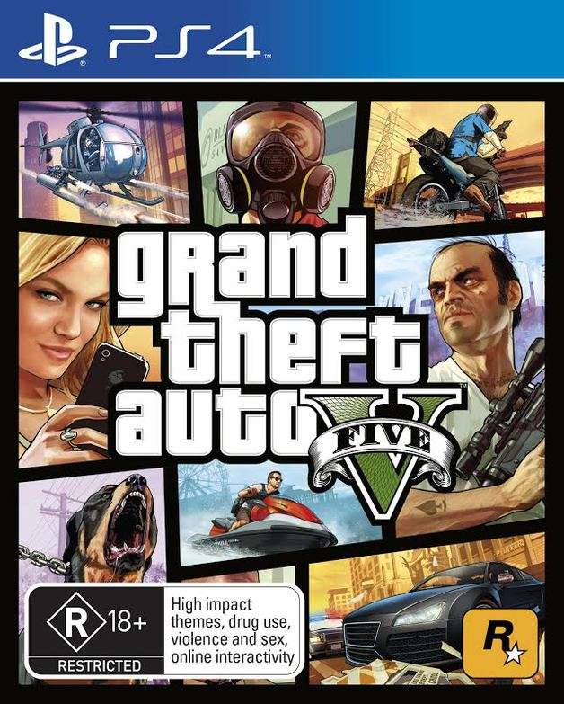 Grand Theft Auto V For Ps