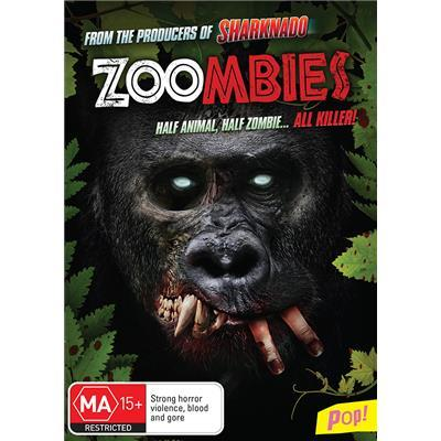 Zoombies on DVD image