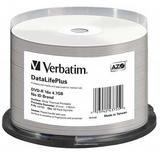 Verbatim DVD-R 4.7GB 50Pk White Wide Thermal 16x