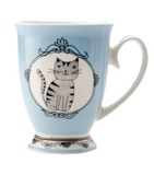 Maxwell & Williams: Purrfect Mug - Blue (290ml)
