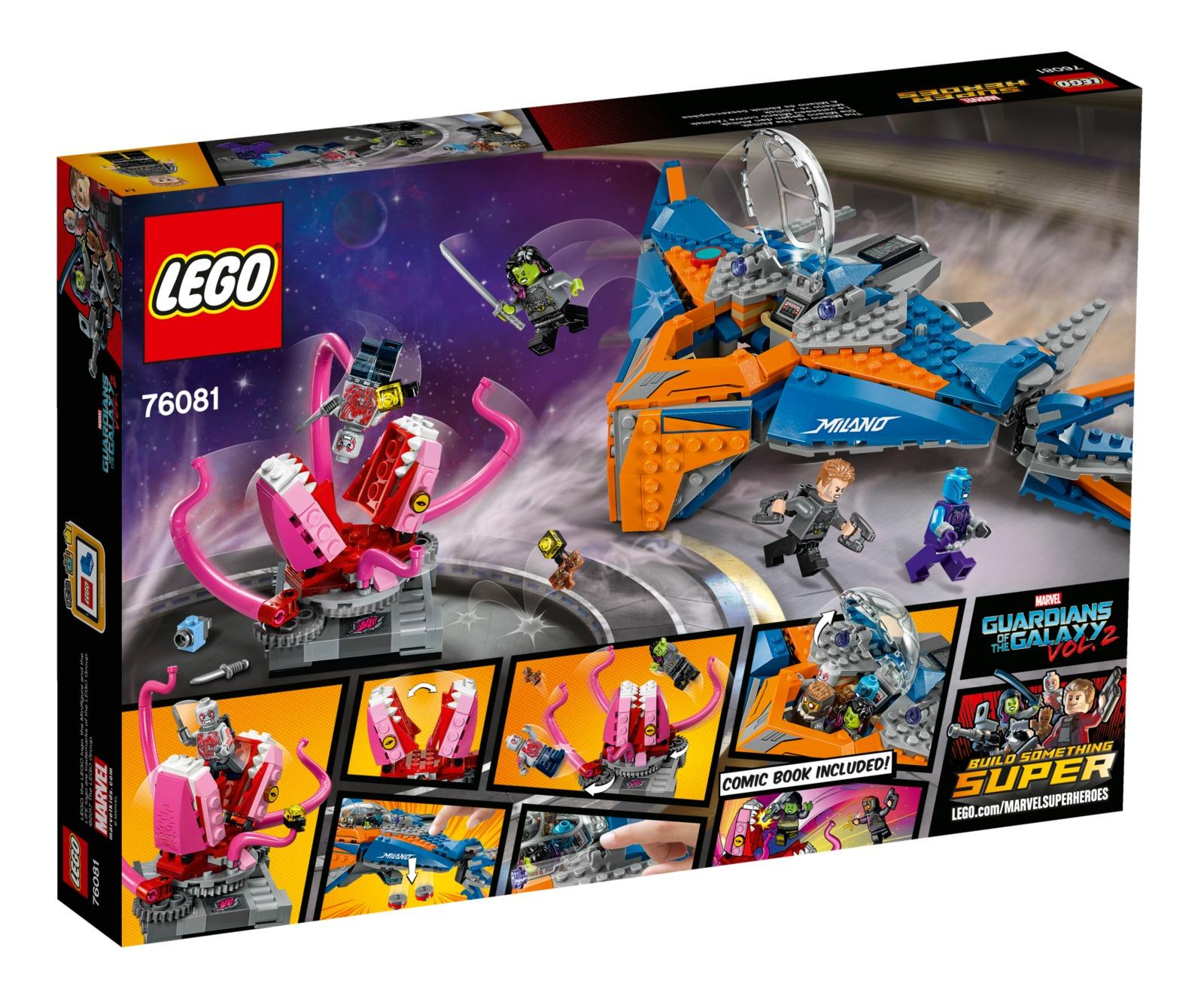 LEGO Super Heroes: The Milano vs. The Abilisk (76081) image