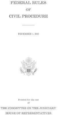 Federal Rules of Civil Procedure: December 1, 2016 image