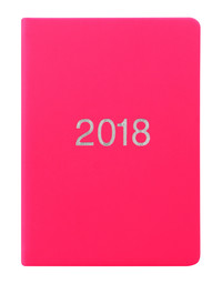 Letts 2018 Diary A6 Week to View (Pink)