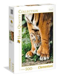 Clementoni: 500-Piece Puzzle - Bengal Tiger