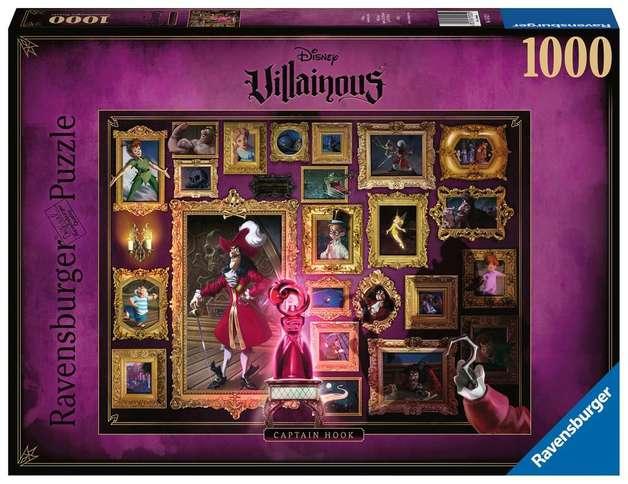 Ravensburger: Disney's Villainous - 1,000 Piece Puzzle - Captain Hook