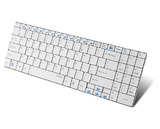 Rapoo Wireless Ultra-Slim Keyboard E9070 (White)