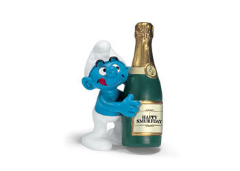 The Smurfs - Bottle Smurf