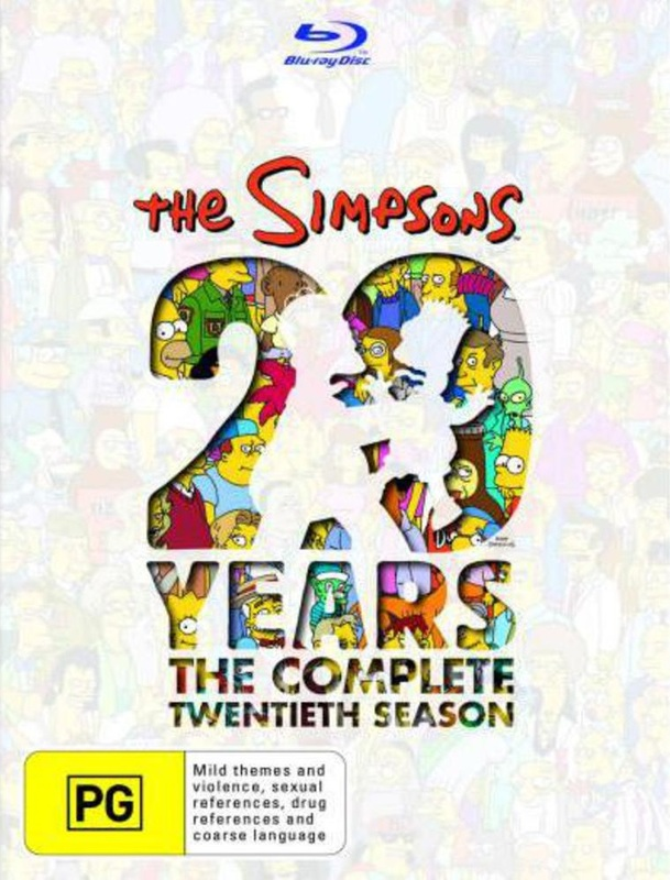 The Simpsons - Season 20 on Blu-ray