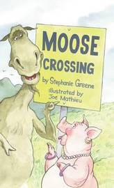 Moose Crossing by Stephanie Greene image