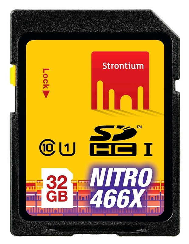 32GB Strontium NITRO Series SD Card