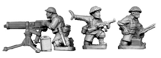 Artizan: British 8th Army Vickers MMG Team (1 gun and 3 crew)