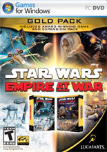 Star Wars Empire At War Gold Edition (Game + Expansion) for PC Games