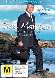 Doc Martin - Complete Series 3 (2 Disc Set) on DVD image